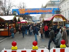 Thomas Quine flickr cc Weihnachtsmarkt