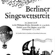 Berliner Singewettstreit steht bevor!
