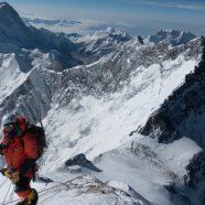 Blick von oben: Pfadfinder auf dem Mount Everest
