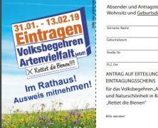Bayern: Volksbegehren Artenvielfalt