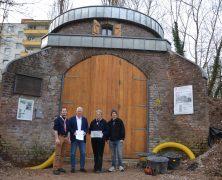 Mühlensockel in Auerberg wird bald fertig werden