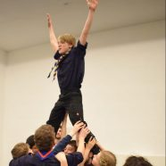 Stamm Drachen mit Teilnehmerrekord