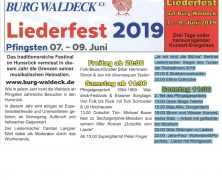 Waldeck Liederfest 2019