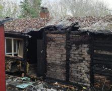 Pfadfinderheim abgebrannt