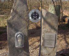 Gedenkstätte für Unglücksfall