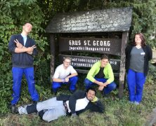 Neue Freiwillige im Haus Sankt Georg