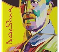 Art-Puzzle und Kühlschrankmagnet von Baden-Powell