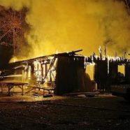 Pfadfinderheim der Münsterritter abgebrannt