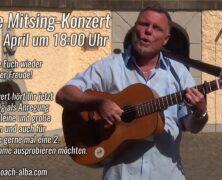 HEUTE! Mitsing-Konzert von Ömmel
