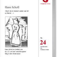 Neuerscheinung Hans Scholl